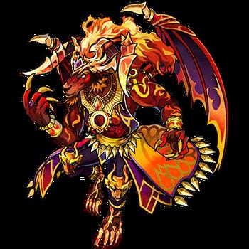 Gear-Ifrit, Fallen Spirit Render