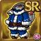 Gear-Blue Santa Costume Icon