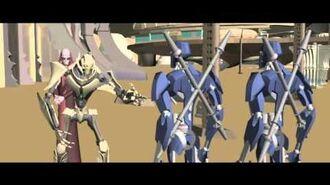 Star Wars The Clone Wars Story Reel 3 crystal crisis