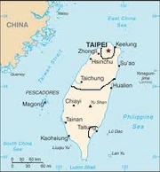 Borders of Taiwan Civil War