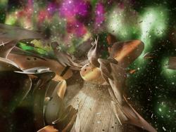 Nebula Ship Wreckage