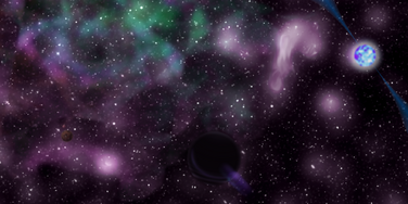 Posters Space Wallpaper Thing V1