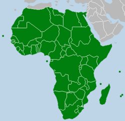 EOEP Pan African Union Map