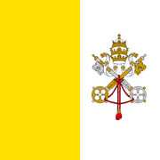 Flag of the Vatican City svg