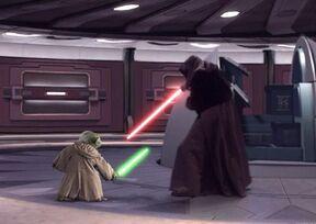 Yoda vs Sidious