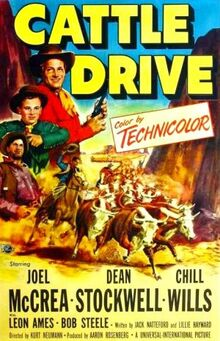 Cattle Drive FilmPoster