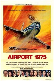 Airport nineteen seventy five movie poster