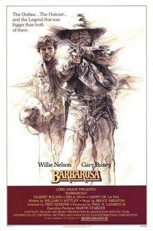 Barbarosa FilmPoster