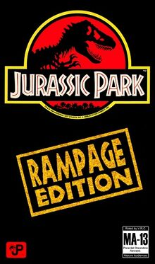 Cover Art for Jurrasice Park Rampage Edition