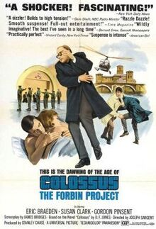 Colossus the forbin project movie poster