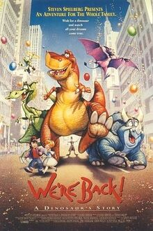 We're Back! Movie Poster