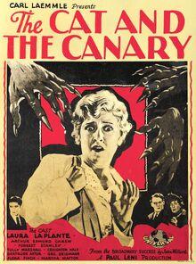Thecatandthecanary-windowcard-1927