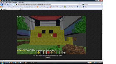 Pikachu Minecraft