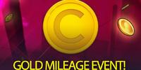 Gold Mileage Event
