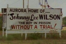 Johnny Wilson billboard