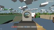 Aiming dual point rail