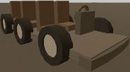 6 Seater Makeshift Vehicle
