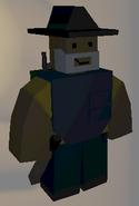 Player wearing Fedora