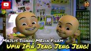 Majlis Sidang Media - Filem Upin & Ipin Jeng Jeng Jeng!