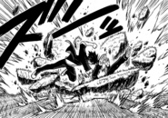 Touta defeats Kuroumaru