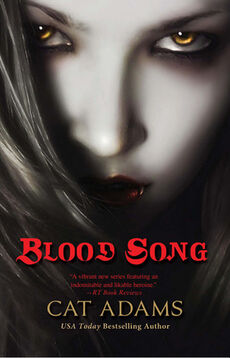 Blood Song (Blood Singer -1) by Cat Adams