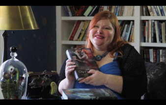 Cassandra Clare in home