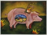The Lucky Pig posted by Lisa Desimini