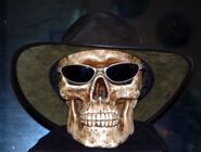 Bob The Skull Hat and Shades