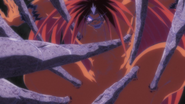 Tora attacked by the Stone Eater