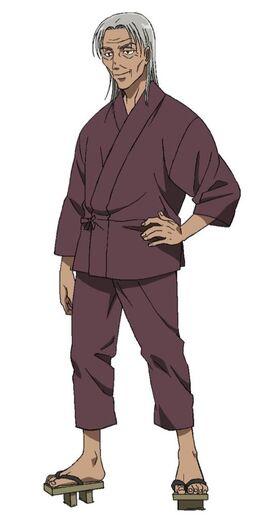 Shigure anime design 2