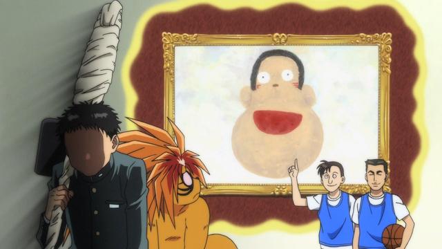 File:Episode 2 - Ushio's drawing of his teacher, Nozaki.png