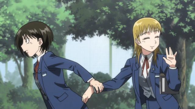 File:Episode 2 - Asako dragging Mayuko.png