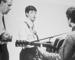 Martin McCartney and Lennon