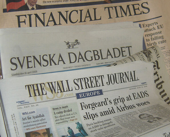 File:Newspapers FT SvD IHT WSJ.jpg