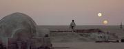 SW binary sunset