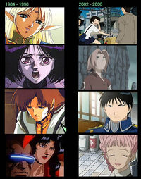 Old vs New Anime