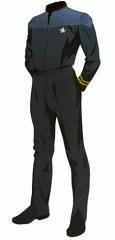 Uniform duty black lt