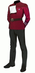 Uniform dress red crewman
