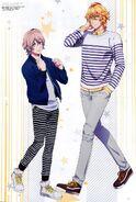 Natsuki & Nagi - Maji LOVE Legend Star - Scan