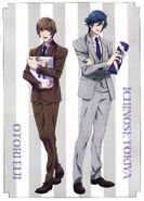 Tokiya & Eiji - Maji LOVE Legend Star - Scan -1