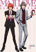 Otoya & Eiichi - Maji LOVE Legend Star - Scan