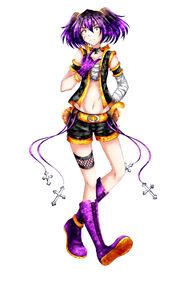 Metarune Yoru Akumaloid UTAU)Art by Narea