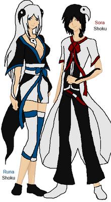 Sora And Runa Shoku