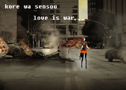 CHIKUkore wa sensou love is war