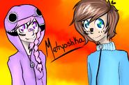 Yan and Hiroshi Matryoshka