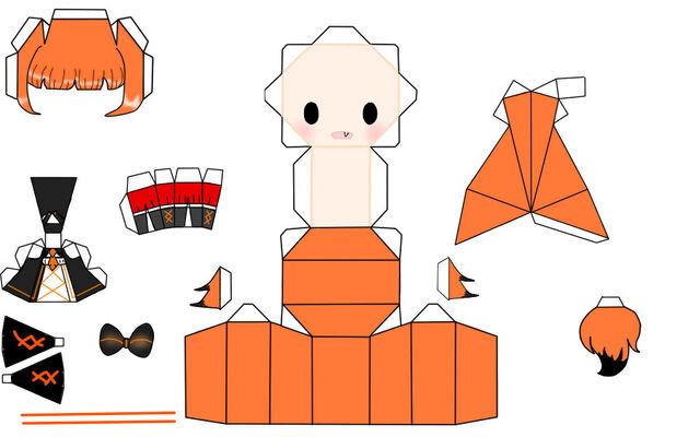 File:Papercraft trei by mildron-d5x08t2.jpg