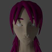 Eita Blender 3D Model Head