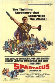Spartacus Film Poster