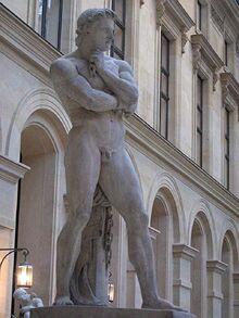 Spartacus statue by Denis Foyatier