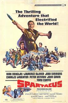 Spartacus - 1960 - poster